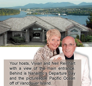 Our Ocean View Nanaimo Bed and Breakfast